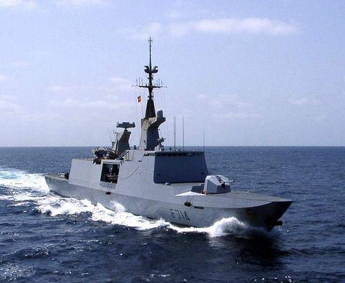 fs gupratte la fayette class frigate