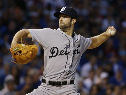 8-19-2015 -- Tigers P Daniel Norris hits a HR in his 1st career at bat, among other great accomplishments by Tigers players in this game... Tigers score 15 to sweep Cubs at Wrigley Field - via Detroit Free Press