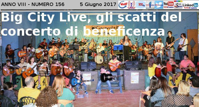 Big City Live, gli scatti del concerto di beneficenza