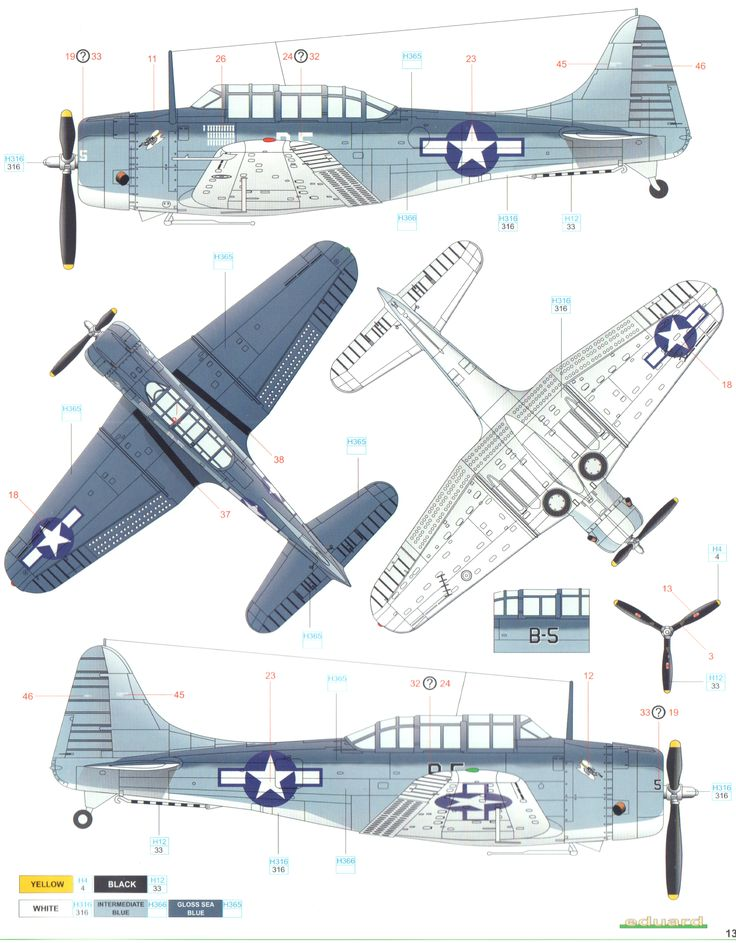 Here Is The Douglas Sbd Dauntless Pacific Tri Color