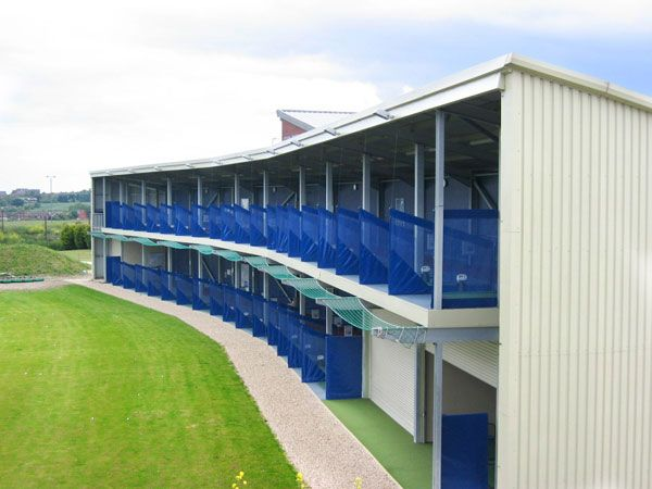 Golf Range Build   Woodland Environmental design ideas