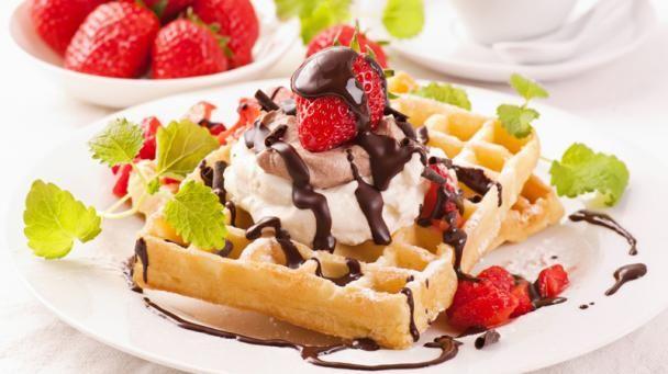 Najlepšie raňajkové wafle