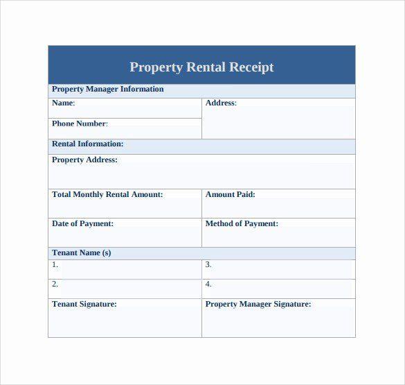 Rent Paid Receipt Template Lovely 21 Rent Receipt Templates Receipt Template Free Receipt Template Rental Agreement Templates