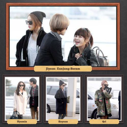 T-ara's fashion ;)