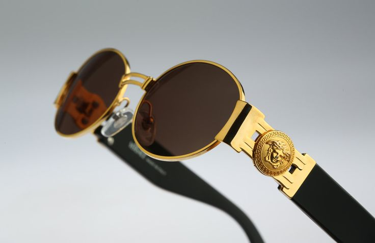 Gianni Versace Mod S71 / Vintage sunglasses / NOS / 90s and all time being luxury! by CarettaVintage on Etsy