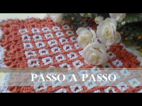 TAPETE - DUPLA FACE, PASSO A PASSO - CROCHÊ (Artesanato) - YouTube