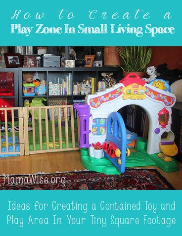 Creating a Baby Play Area in Small Living Space