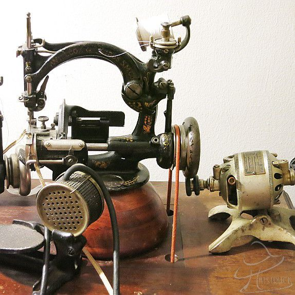 straw braid sewing machine