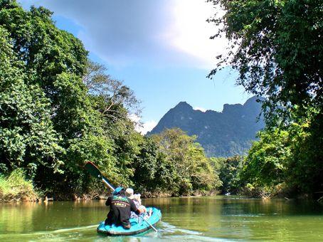 #Finnmatkat Etelä-Thaimaan sademetsässä