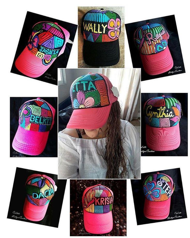 ♫☇Pide ya tus Gorras Personalizadas  Pintadas a mano del Color y Modelo que usted desee.  Contactenos al:67442186 . .  #gorras #gorraspintadas #handcraft #craft #handmade #panama #arte #moda #gorrasdemoda #pintura #pintadas #sombreros #accesoriospty #lindas #mola #molaspanama #molapintada  #summer #playa #verano  #camioneras #personalizada #belkys Envios al interior del Pais.