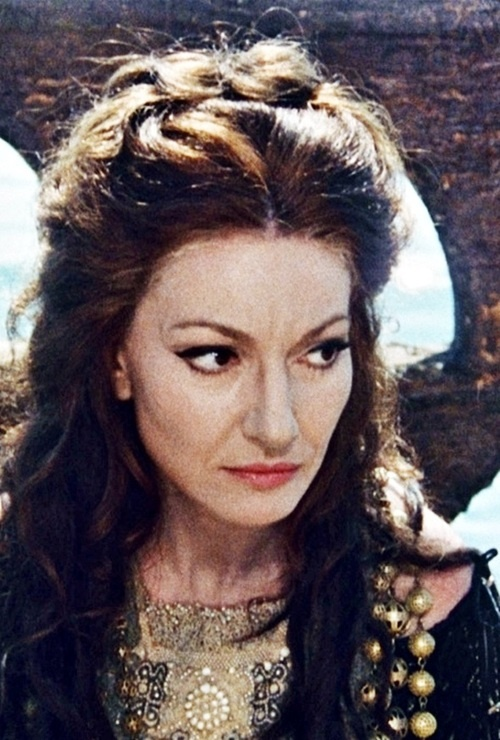 Medea, 1969 Maria Callas in her only film role. She does not sing in the movie.