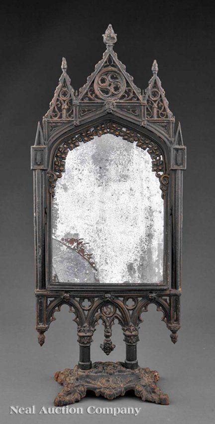 Gothic Revival Mirror.