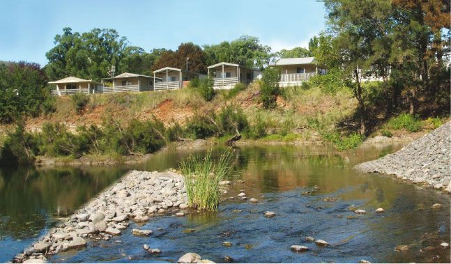 Home | Fossickers Tourist Park Nundle