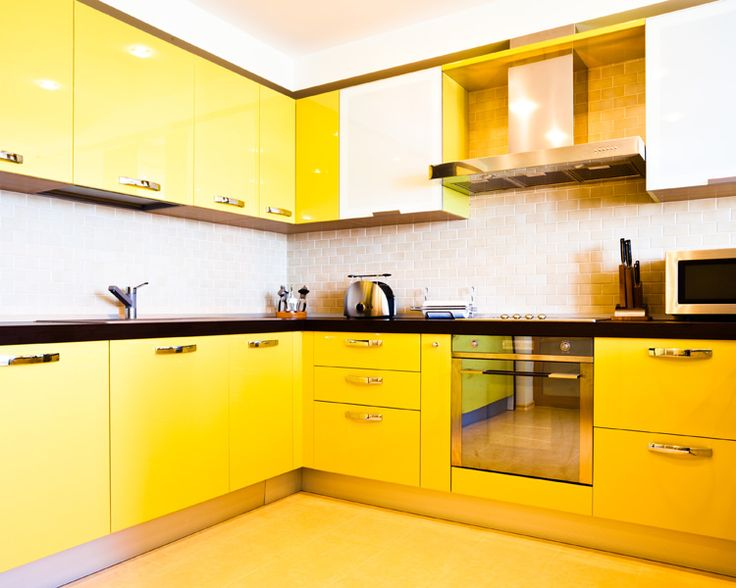 Most Popular Kitchen Paint Colors, Yellow Kitchens Part 41