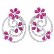 Gili Diamond Earring GEK264SI-GH | Gili