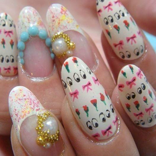11 best Japanese Nail Art Tutorials images on Pinterest ...