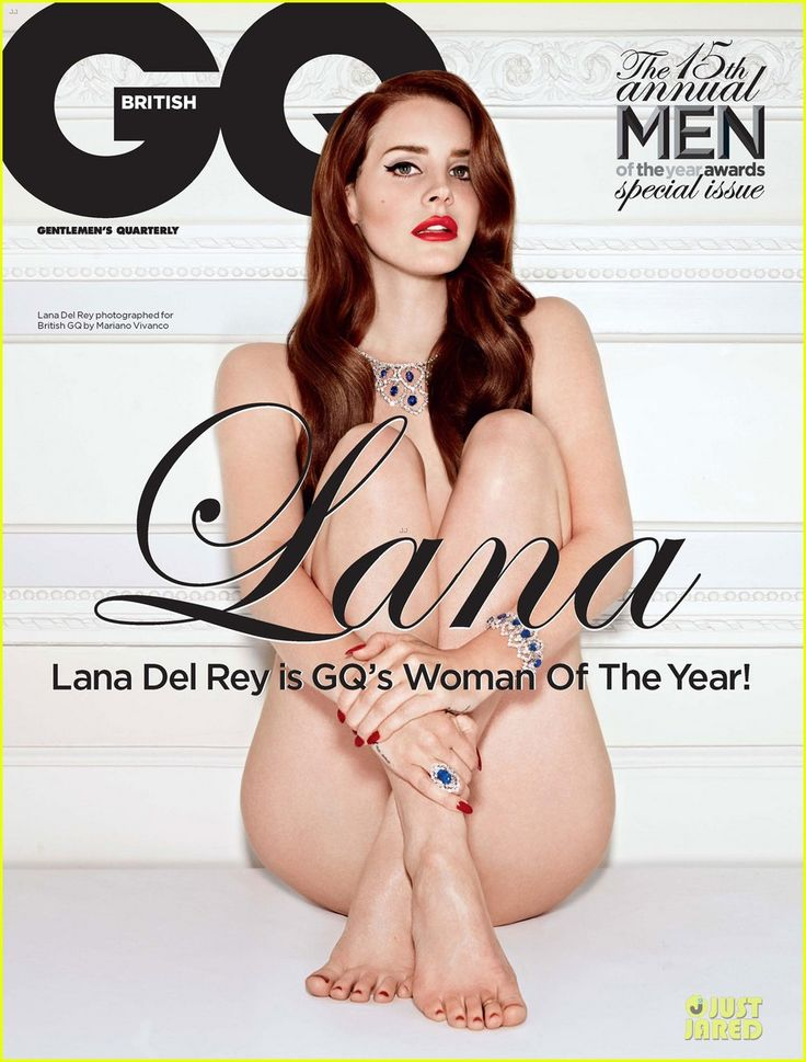 Lana Del Rey: Nude for British 'GQ'