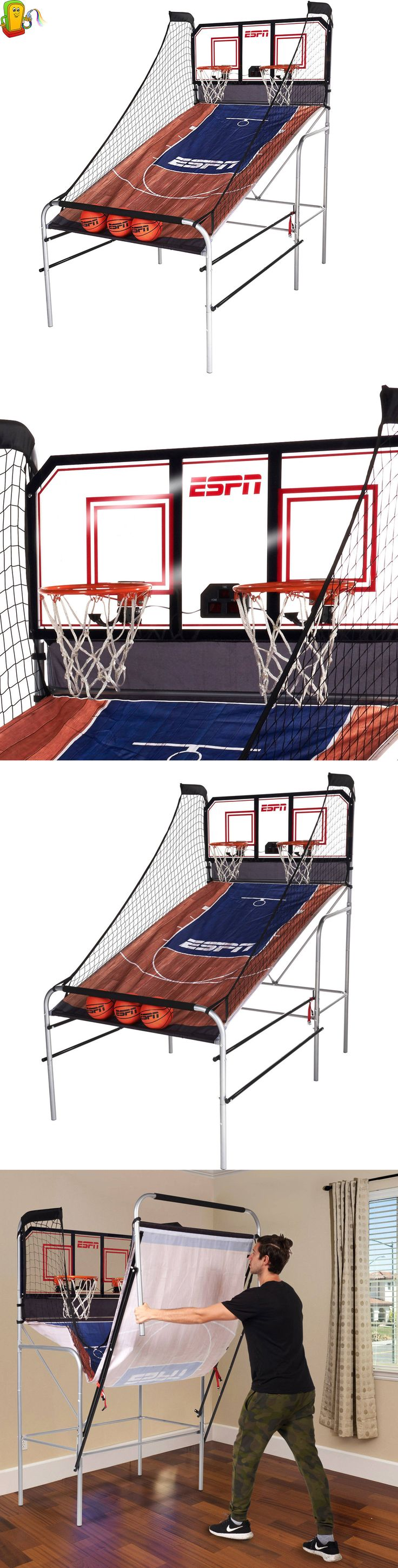 Other Indoor Games 36278: Espn Basketball Game Indoor Electronic Arcade Sports Kids 2 Player Heavy Duty -> BUY IT NOW ONLY: $213.31 on eBay!