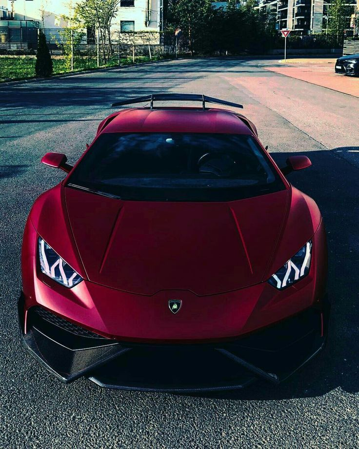 Satin Red Agressive Huracan