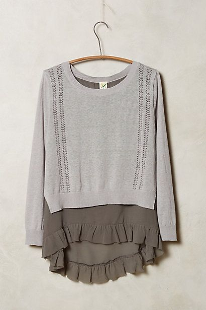 Skirted Pullover #anthrofave