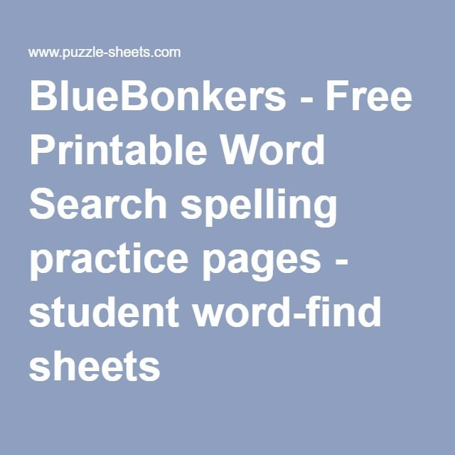 107 best A.6 Wordsearch and crossword images on Pinterest | Word ...