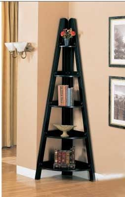 A different twist on a corner bookcase. I would make with beautiful wood and more romantic edges/shapes to it.