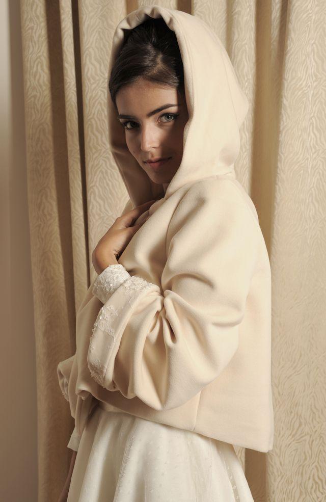 Petite veste de mariée en laine - Meryl Suissa 2013 - Veste modèle Humphrey - La Fiancée du Panda Blog Mariage et Lifestyle