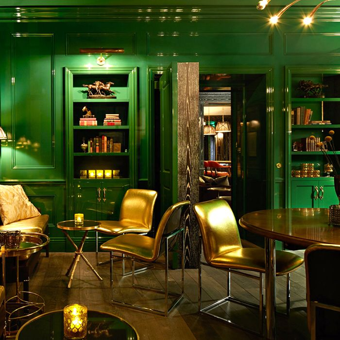 "San Francisco's ""The Battery"" is an upscale exclusive club with a host of impressively inventive interior design schemes."
