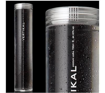 Premium Vodka Distillers Drunk With Design. Vertikal Vodka (now renamed as ABVodka)