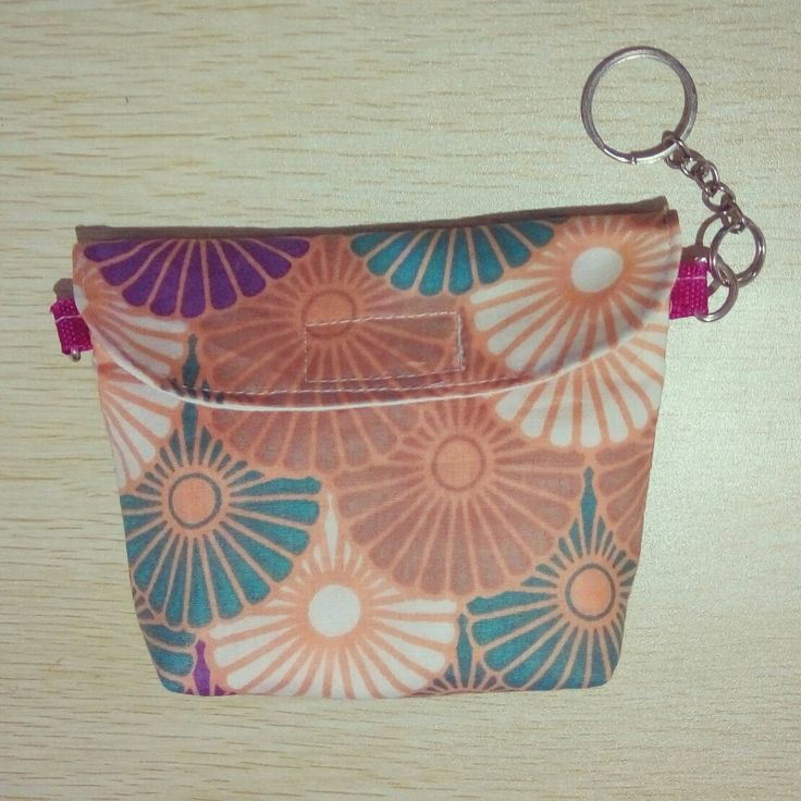 Coin purse with key chain