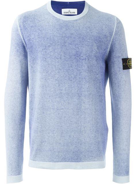 STONE ISLAND crew neck sweater. #stoneisland #cloth #sweater