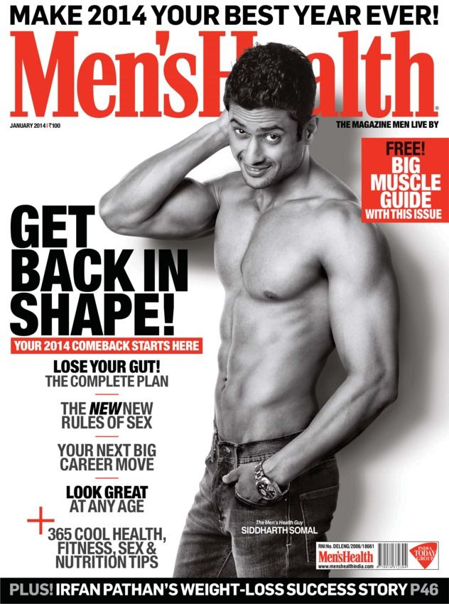 Men's Health India - January, 2014 : Highlights of Men's Health magazine dated January 2014. This is your chance to make 2014 your best year ever! Stay young, stay fit, have more sex this year and get the best out of your life with help from Men's Health, India's largest selling men's lifestyle magazine. We have rewritten the rules to live by this year and this is where your comeback starts. Don't miss this issue.