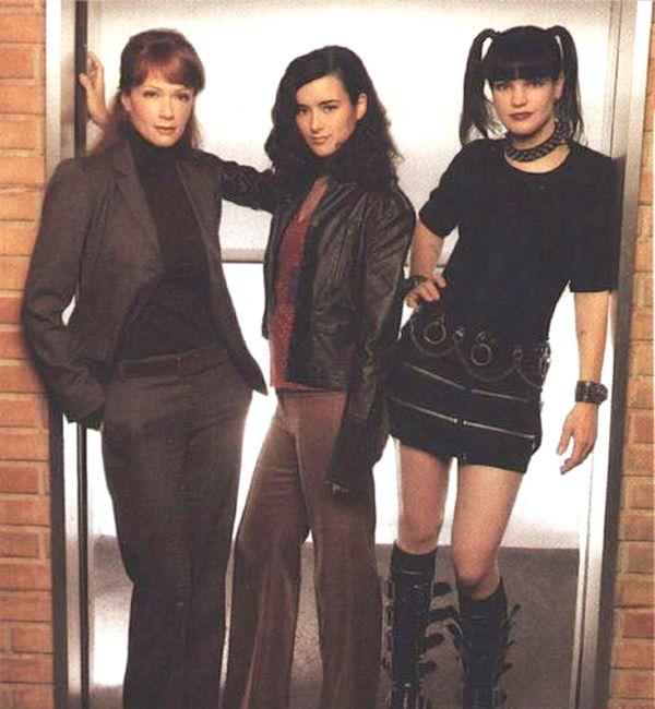 The Ladies of NCIS: Lauren Holly (Jenny Shepard), Cote de Pablo (Ziva David), & Pauley Perrette (Abby Sciuto)