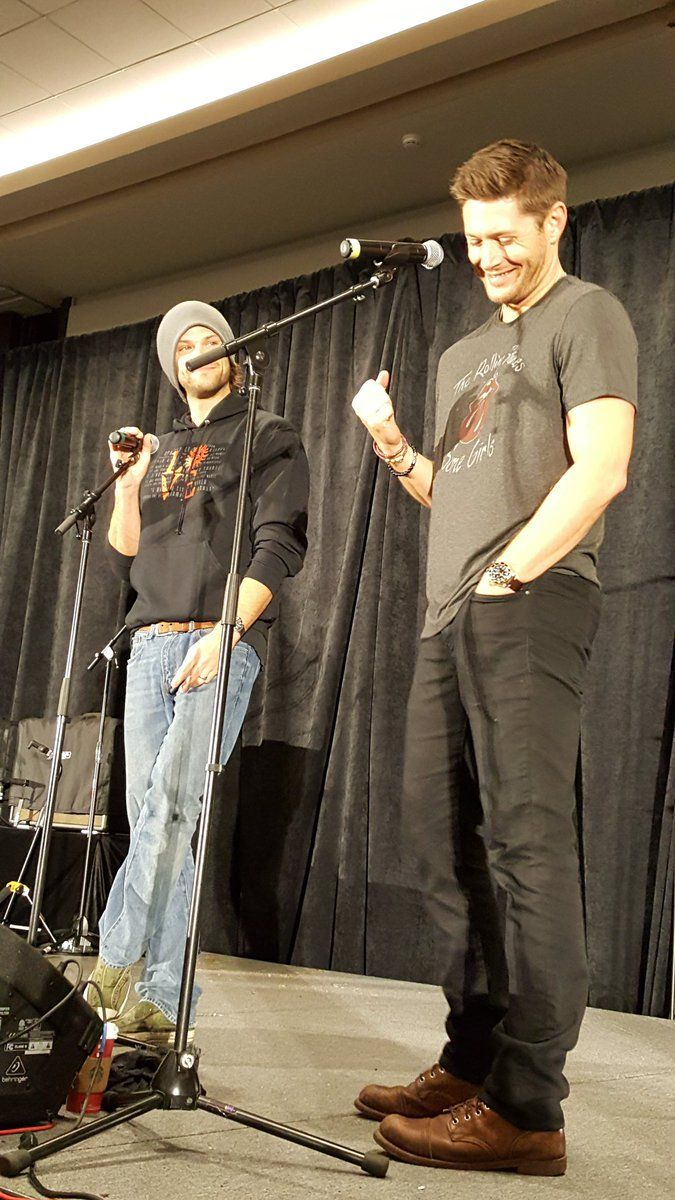 Jensen Ackles talking about his new twins Arrow Rhodes and Zeppelin Bram. LOOK HOW HIS FACE IS GLOWING
