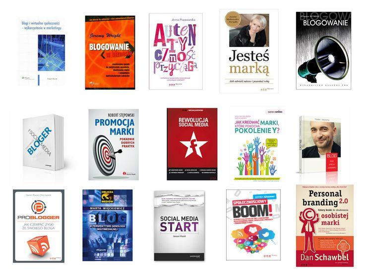 książki o blogach i blogowaniu