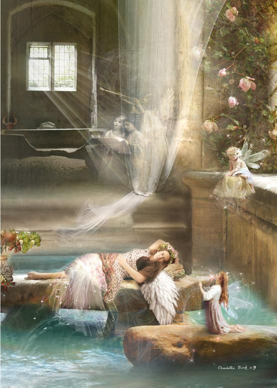 ۞ ۩ஜ  Hall of angels - Charlotte Bird