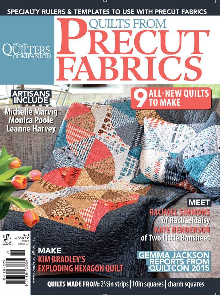 Quilts From Precut Fabrics #4 cover