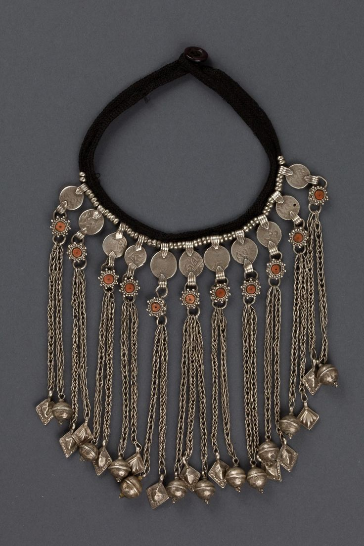 Early 1900s silver coin necklace