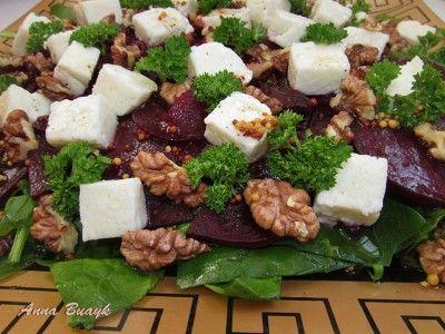 Салаты со шпинатом рецепты фото