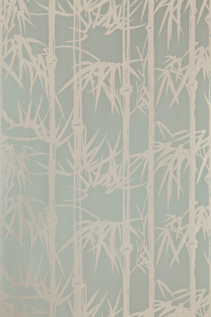 Farrow & Ball Bamboo Wallpaper is a thing of beauty.