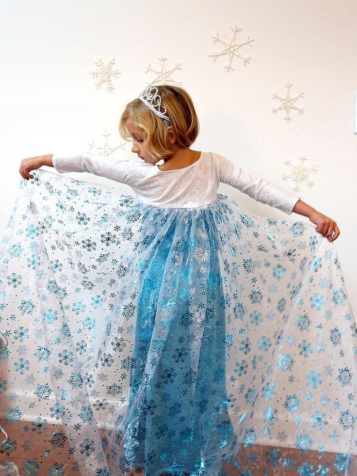 Elsa Dress for Christmas