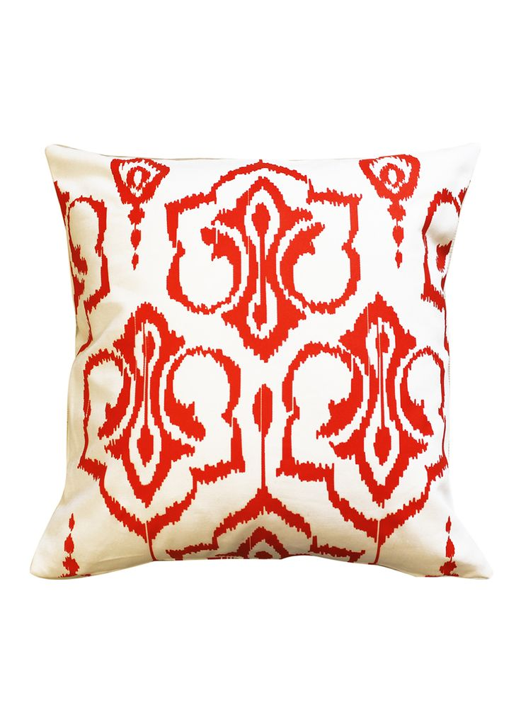 turquaz high quality turkish bedding sale currently live ikat cushion coral