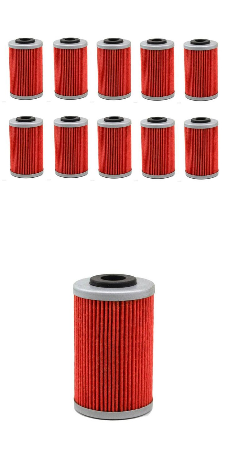 [Visit to Buy] 10pcs Motorcycle Oil Grid Filter for KTM 250 EXC 400 450 520 525 560 SMR 620 625 640 660SMS ( HF155 ) #Advertisement