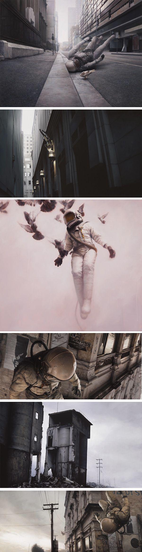Jeremy Geddes #art #astronaut