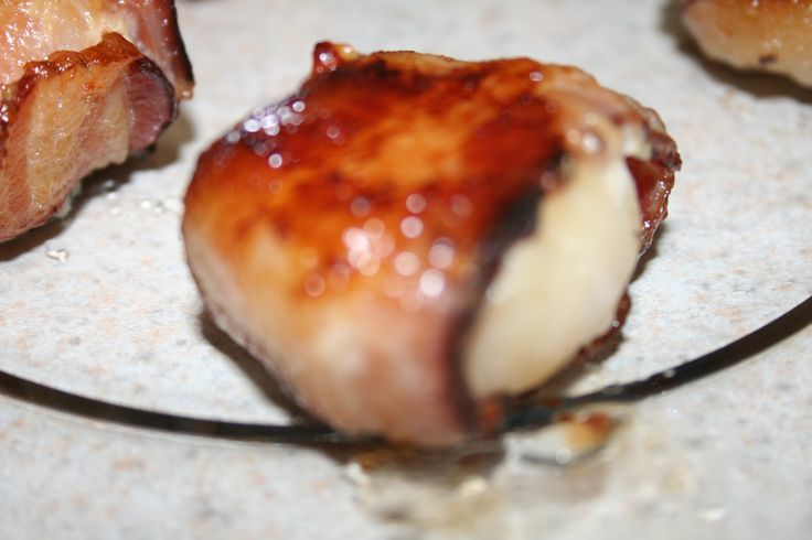 ... :) | Pinterest | Bacon Wrapped Scallops, Scallops and Bacon Wrapped