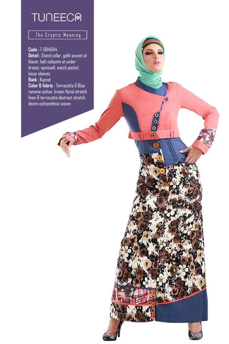 The Cryptic Meaning by Tuneeca  #tuneeca #muslimwear #hijab #fashion #casualwear #tuneeca #muslimwear #hijab #fashion