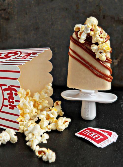 Caramel Popcorn Pops by zoku via http://blog.heylook.fi