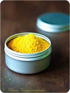 Orangen- und Zitronenpulver und was man alles damit anstellen kann   Kleiner Kuriositätenladen