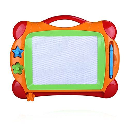 Drawing Tablet Toys - Sproutoy Color Magnetic Drawing Board for Kids Magical Doodle Scribble Writing Draft Sketch Tablet Pad color may vary FBA * You can find out more details at the link of the image.