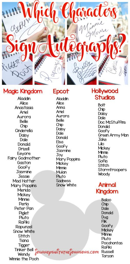 What Disney Characters Will Sign Autographs? Tips and Tricks to Walt Disney World theme parks.   Disney, Disney World, Disneyland, Disney Parks, Disney Vacation